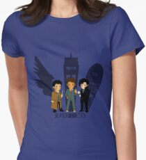 Superwholock Women's Fitted T-Shirt
