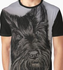 """Nellie and Gracie"" - Dog portraits Graphic T-Shirt"