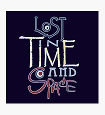 Lost In Time & Space Photographic Print