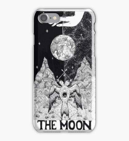 The Moon Tarot Card iPhone Case/Skin