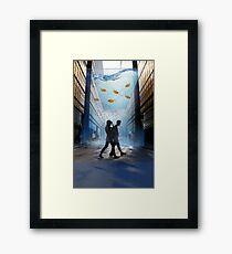 Urban Fish Bowl, aquarium Framed Print