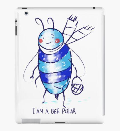 bee polar iPad Case/Skin