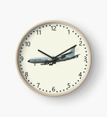 KC135A Stratotanker on Cream b/g and numbered dial Clock