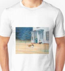 Edward Hopper, Cape Cod Evening, 1939 Slim Fit T-Shirt