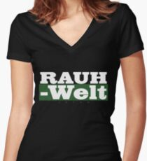 RAUH-WELT Women's Fitted V-Neck T-Shirt