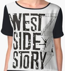 West Side Story logo Women's Chiffon Top