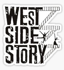 West Side Story logo Sticker