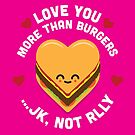 Character Building - Valentines - Burgers - JK by SevenHundred