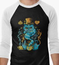 Wondercat Impressions Men's Baseball ¾ T-Shirt