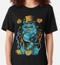 Camiseta ajustada Impresiones Wondercat