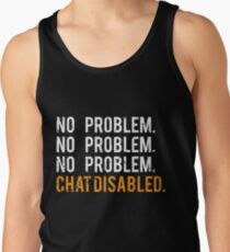 Rocket League Video Game No Problem Funny Gifts Tank Top