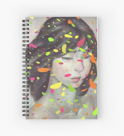 Colours Spiral Notebook