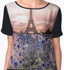 Eiffel Tower, Paris - France  Women's Chiffon Top