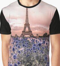Eiffel Tower, Paris - France  Graphic T-Shirt