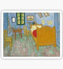 Vincent Van Gogh - The Bedroom 1889 Sticker