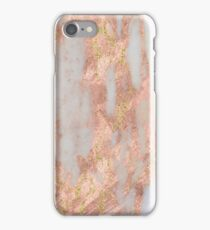Aprillia - rose gold with golden flecks iPhone Case/Skin