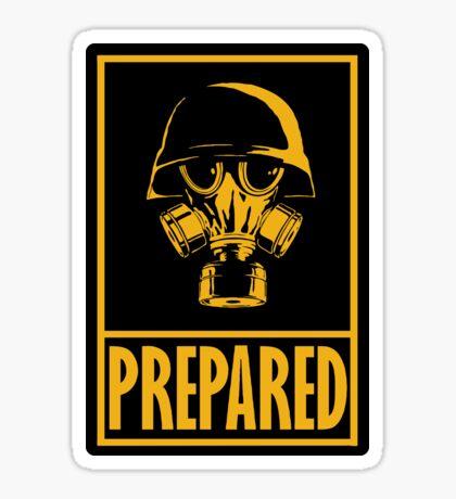 Prepared Sticker
