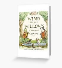 Wind in the Willows By Kenneth Grahame Greeting Card