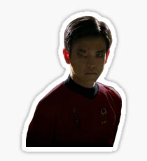 Mirror Sulu Sticker