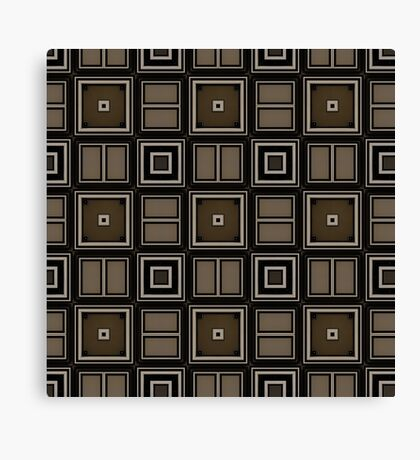 Earthy Taupe Design by Julie Everhart Canvas Print