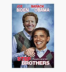 Brothers | Joe Biden & Barack Obama, not just friends, brothers! Photographic Print