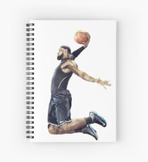 LeBron James Dunking Collection Spiral Notebook