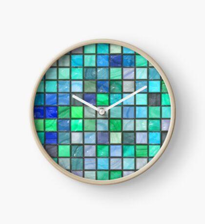 Tile Squares Design by Julie Everhart Clock