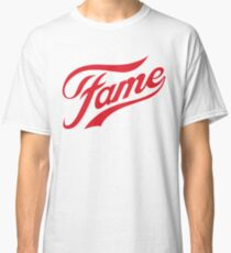 Camiseta clásica Fame logo