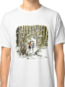 The Lion, The Witch and The Wardrobe By CS Lewis Classic T-Shirt