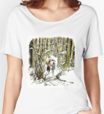 The Lion, The Witch and The Wardrobe By CS Lewis Women's Relaxed Fit T-Shirt