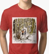 The Lion, The Witch and The Wardrobe By CS Lewis Tri-blend T-Shirt