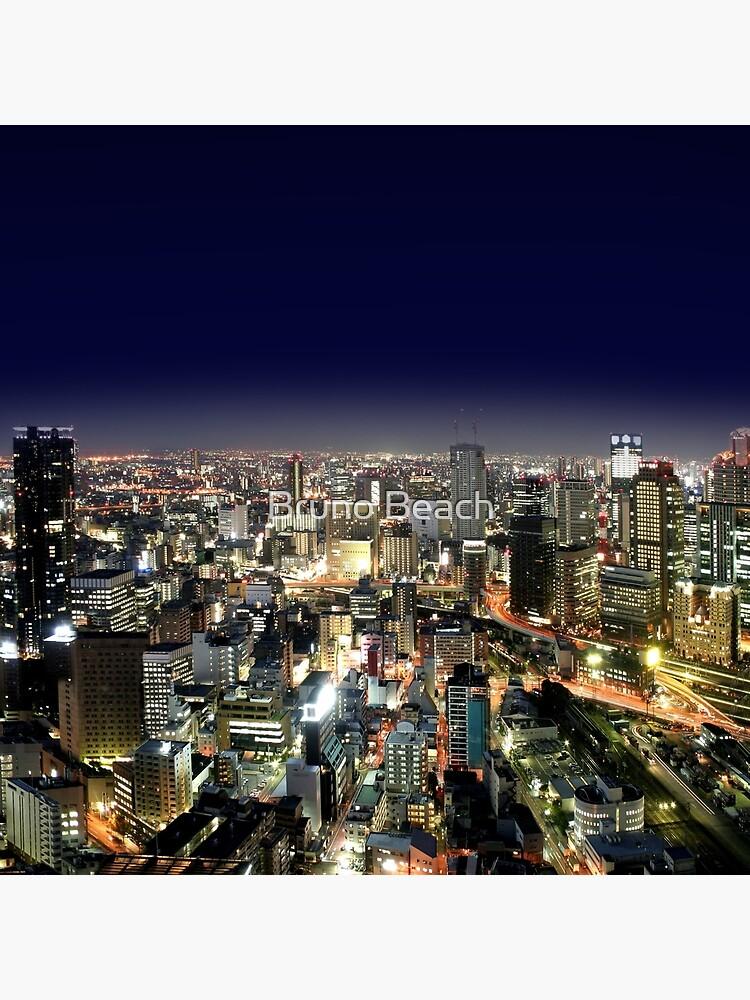 Osaka por la noche - Japón de BrunoBeach