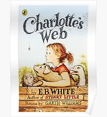 Charlottes Web By EB White Poster