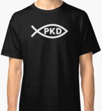 PKD Jesus Fish (white) Classic T-Shirt