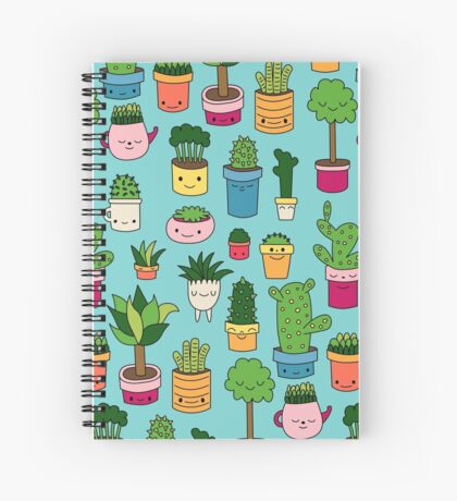 Patio by Elebea Spiral Notebook