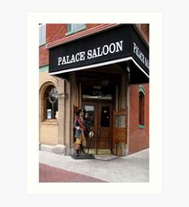 The Palace Saloon Art Print