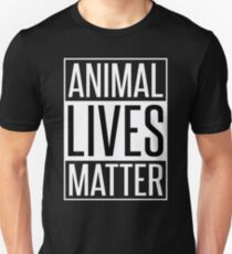 ANIMAL LIVES MATTER Unisex T-Shirt