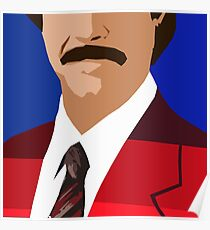 The Anchorman Poster