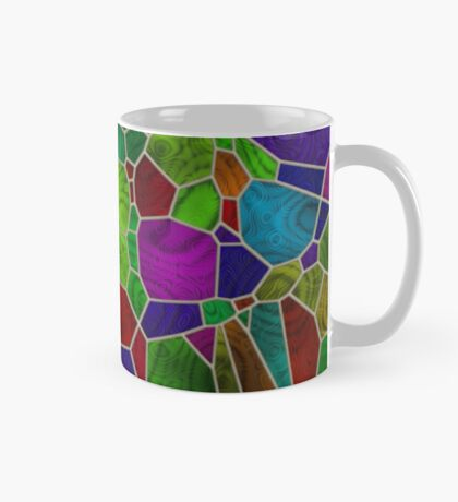 Stained Glass Design by Julie Everhart Mug