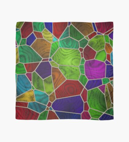 Stained Glass Design by Julie Everhart Scarf