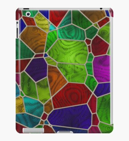 Stained Glass Design by Julie Everhart iPad Case/Skin