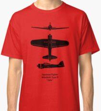 """A6M Type 0 """"Zeke"""" Classic T-Shirt"""