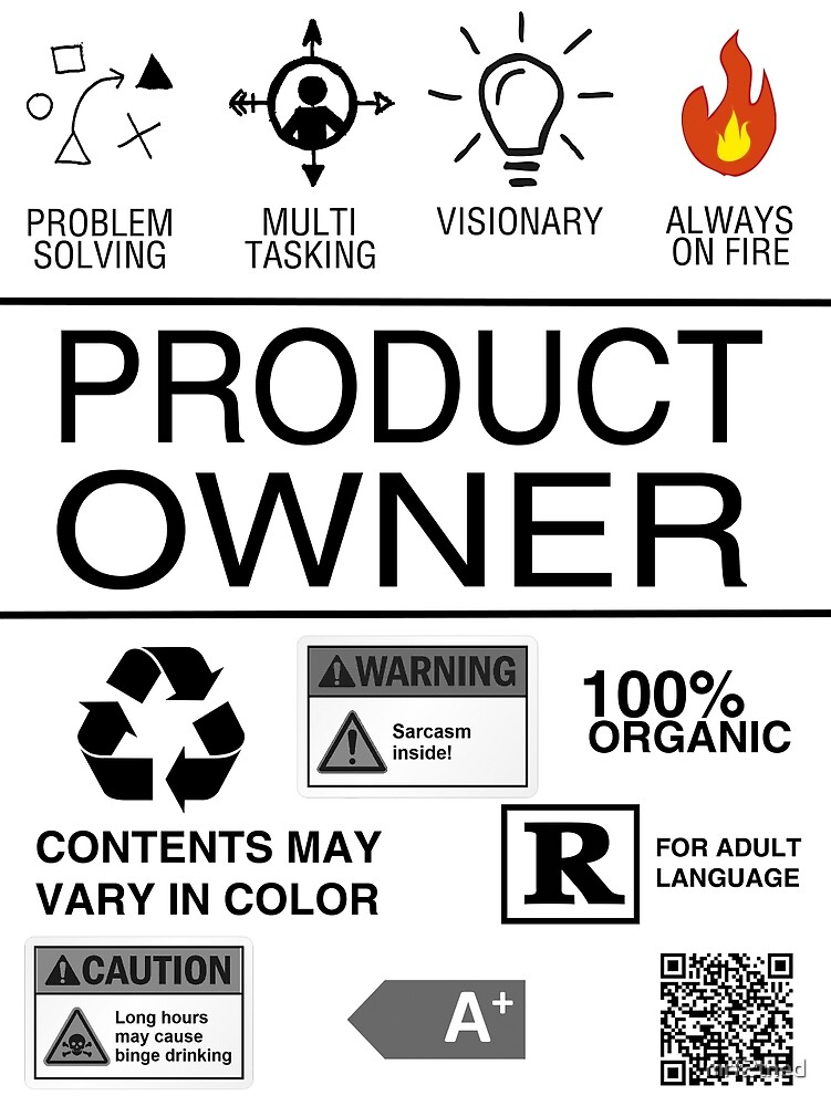 Product Owner von mrf2thed