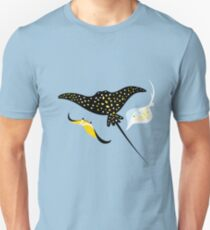 Seamless pattern stingray Unisex T-Shirt