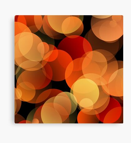 Dots Upon Dots by Julie Everhart Canvas Print