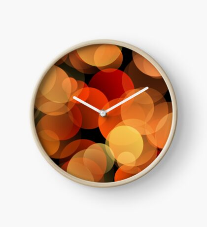 Dots Upon Dots by Julie Everhart Clock