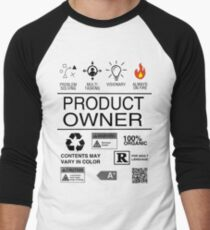Product Owner Men's Baseball ¾ T-Shirt