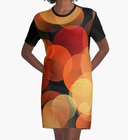 Dots Upon Dots by Julie Everhart Graphic T-Shirt Dress