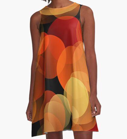 Dots Upon Dots by Julie Everhart A-Line Dress
