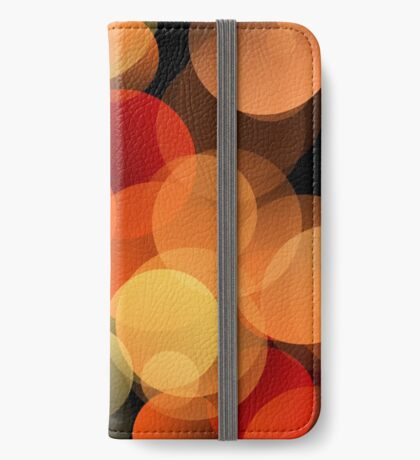 Dots Upon Dots by Julie Everhart iPhone Wallet